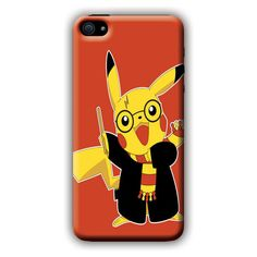 Pokemon (Harry Potter) iPhone 5/5s i5 Case ($7.97) ❤ liked on Polyvore featuring accessories and tech accessories