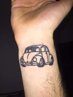 Really like this little bug tattoo.