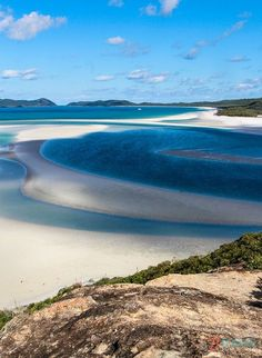 Whitehaven Beach, Queensland, Australia   - Explore the World with Travel Nerd Nici, one Country at a Time. http://TravelNerdNici.com