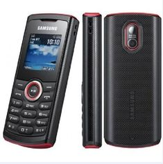 Original Samsung Guru 2121 with single-SIM 2G GSM 900 / 1800