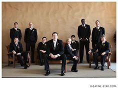 Shooting Group Wedding Formal Photos