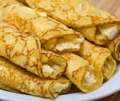 8 reformpalacsinta, amit akkor is ehetsz, ha diétázol Cheese Blintzes, Confectioners Sugar, Lemon Curd, Vegetarian Cheese, Cottage Cheese, Crepes, Snack Recipes, Paleo, Meals