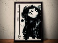 Florence And The Machine Art Print Florence And The von POTAPOTA