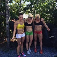 Jen Smith, Katrin Davidsdottir & Brooke Ence