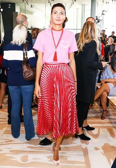 What They Wore: New York Fashion Week via @WhoWhatWear