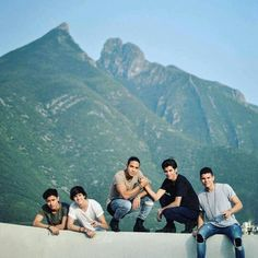 CNCO in Monterey, Mexico