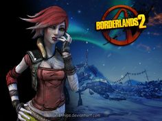 lilith from borderlands | Borderlands 2: Lilith by ~Irishhips on deviantART