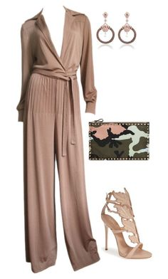 """Untitled #4186"" by marcellamic ❤ liked on Polyvore featuring Valentino, Giuseppe Zanotti, women's clothing, women, female, woman, misses and juniors"