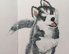 "Check out new work on my @Behance portfolio: ""Husky"" http://be.net/gallery/33704294/Husky"