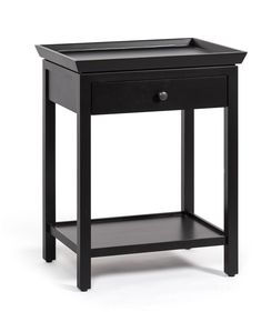 Neptune Aldwych Tall Side Table – Warm Black