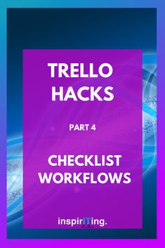 Continuing our journey on Trello hacks! With these in-board workflows you can get things done that you cannot with Trello's default features. Starting A Business, Business Planning, Business Tips, Online Business, Productivity Apps, Time Management, Project Management, Meaningful Life, Pinterest For Business