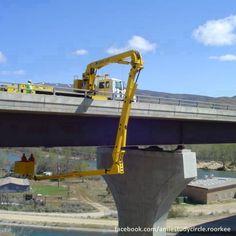 Amazing bridge inspection machine!