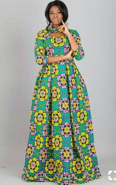 16 20 Gorgeous Ankara Gown Styles & Ideas On How To Wear Them Long African Dresses, Ankara Long Gown Styles, African Print Dresses, Ankara Styles, Ankara Gowns, Long Ankara Dresses, African Clothes, African Prints, Short Dresses