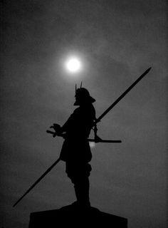 Samurai Silhouette - add me on Facebook - http://facebook.com/kurt.a.tasche