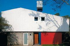 """La Casa del arquitecto Rubens de Mendonça, """"Casa de los Triángulos"""" (1958)"""