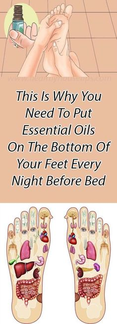 Heavy Weight Life | This Is Why You Need To Put Essential Oils On The Bottom Of Your Feet Every Night Before Bed