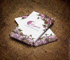 Логотип, визитка мастера и нейминг слогана - визитка,визитка на заказ