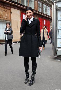 Giovanna Battaglia #fashion #streetstyle