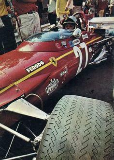 Jacky Ickx - Ferrari