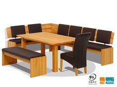 Design#5000544: Details zu voglauer landhaus garnitur essgruppe eckbank tisch .... Essgruppe Mit Eckbank