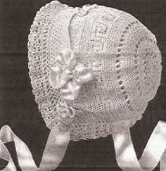 Vintage Crochet PATTERN to make - Antique Baby Cap Hat Bonnet Greek Key Design. NOT a finished item. This is a pattern and/or instructions to make the item only. Vintage Home Arts,http://www.amazon.com/dp/B004GV7OOO/ref=cm_sw_r_pi_dp_C71dtb15XZHA0YPV
