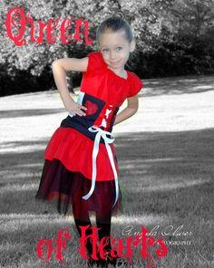 Queen of Hearts, Alice in wonderland!