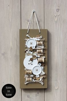 H.O.M.E. #Dress #Up #Your #Door or #Wall with this #DIY #nature #white #sewing  #handmade #interior #decoration | by toneintone Doors, Sewing, Decoration, Interior, Wall, Nature, Handmade, Diy, Home