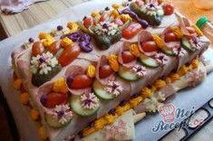 Slaný Dort-Foto-Postup Sushi, Ethnic Recipes, Sushi Rolls