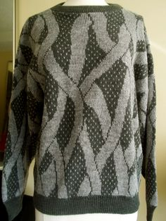VTG Ribbon Sweater 'SilkLeatherandLace' on Etsy