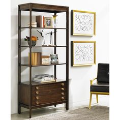 Stanley Furniture Crestaire Welton Bookcase   from hayneedle.com