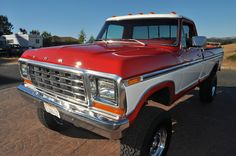 ", Ford two tone paint - ""Nobody does two tone paint like The Ford Motor Company"". , Ford two tone paint - ""Nobody does two tone paint like The Ford Motor Company"". 1979 Ford Truck, Ford Pickup Trucks, Jeep Pickup, Lifted Trucks, Chevy Trucks, Lifted Chevy, Truck Drivers, Ford Bronco, Ford 79"