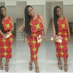ankara style ispiration ~African fashion, Ankara, kitenge, African women dresses, African prints, African men's fashion, Nigerian style, Ghanaian fashion ~DKK