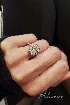 Rectangle Engagement Rings, Elegant Engagement Rings, Cushion Cut Engagement Ring, Engagement Ring Settings, Diamond Engagement Rings, Wedding Stuff, Dream Wedding, Wedding Dress, Wedding Rings