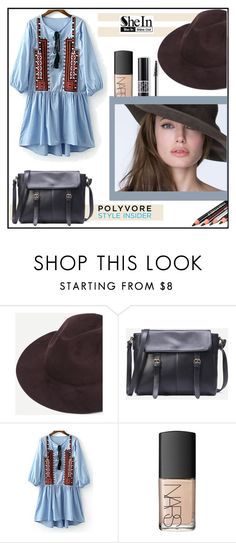 """""""SheIn"""" by alina-gritsay ❤ liked on Polyvore featuring Christian Dior and NARS Cosmetics"""