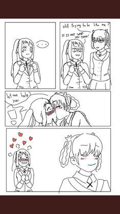 Anime Girlxgirl, Anime Art, Kim Possible, Yuri, Lesbian, Lily, Comics, Anime Stuff, Girlfriends