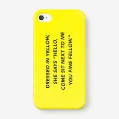 Fancy - Fine Fellow iPhone 5 Case by Kate Spade Saturday