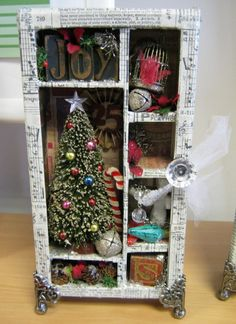 tim holtz configuration box ideas - Google Search