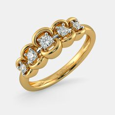 Buy Jewellery Designs Online in India 2020 Gold Rings Jewelry, Bridal Jewelry, Diamond Jewelry, Jewellery, Wedding Rings Sets His And Hers, Gold Finger Rings, Pretty Rings, Necklace Designs, Jewelry Design