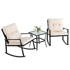 Wicker Patio Chairs | Find Best Patio Chairs Wicker Patio Furniture Sets, Sectional Patio Furniture, Outdoor Wicker Patio Furniture, Outdoor Decor, 3 Piece Patio Set, Outdoor Rocking Chairs, Selling Furniture, Bistro Set, Bistro Chairs