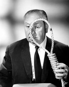 Alfred Hitchcock, late 1950's.