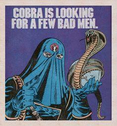 cobra is looking