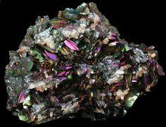 Hematite (iridescent) from Rio Marina, Isola d'Elba, Tuscan Archipelago, Livorno, Italy