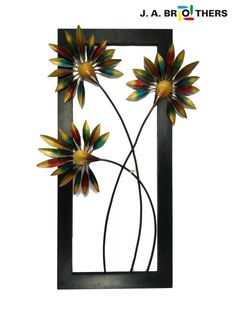 """METAL WALL DECOR CC-NO:06-COLOR WITH SIZE: 16""""X21"""" FOR DECOR YOUR WALLS IN HOME AND OFFICES. WE ARE DEALING IN METAL WALL DECOR IN AHMEDABAD. WE HAVE HUGE COLLECTION OF METAL WALL SCULPTURE, METAL ART DECOR, METAL WALL MURALS, PICTURE FRAME - by J A Brothers, Ahmedabad"""