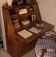 woodworking plans for a secretary desk