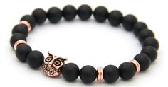Rose Gold Alpha Owl Bracelet – Alpha Accessories