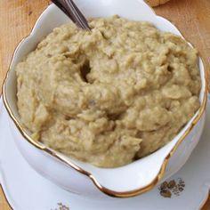kolozsvári padlizsánkrém Ketogenic Recipes, Diet Recipes, Vegan Recipes, Cooking Recipes, Keto Results, Hungarian Recipes, Sauce, Keto Dinner, Diy Food