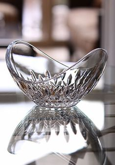 Waterford crystal bowl. I love Waterford crystal.