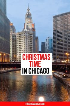 If you haven't visited Chicago at Christmas you need to add it to your must-visit list today. This midwest town turns festive in November and doesn't look back until after New Years Eve. Enjoy the beautiful twinkling lights down Michigan Avenue and all the tastes and surprises of the Christmas markets.  #Chicago #ChristmasChicago