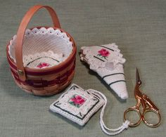 Mini Basket Liner Counted Thread Pattern INSTANT DOWNLOAD