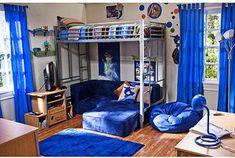 Twin Mattress Kids Metal Bunk Loft Bed modern kids beds